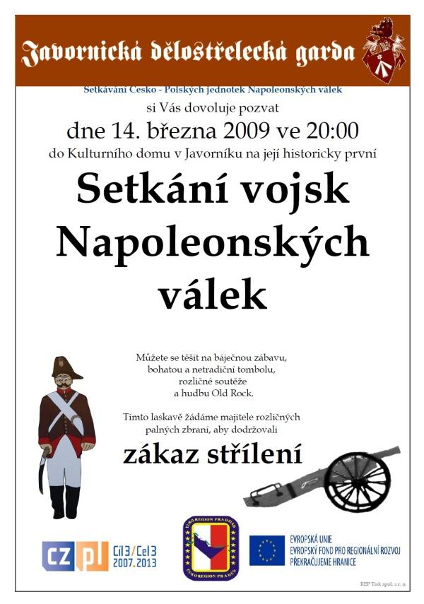 Plakát - Setkání vojsk Napoleonských válek